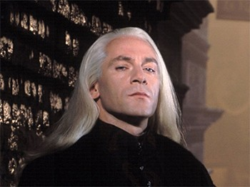 5 Beloved Characters Saved By Actor's Behind-The-Scenes Suggestions | Lucius Malfoy looking like a jerk.