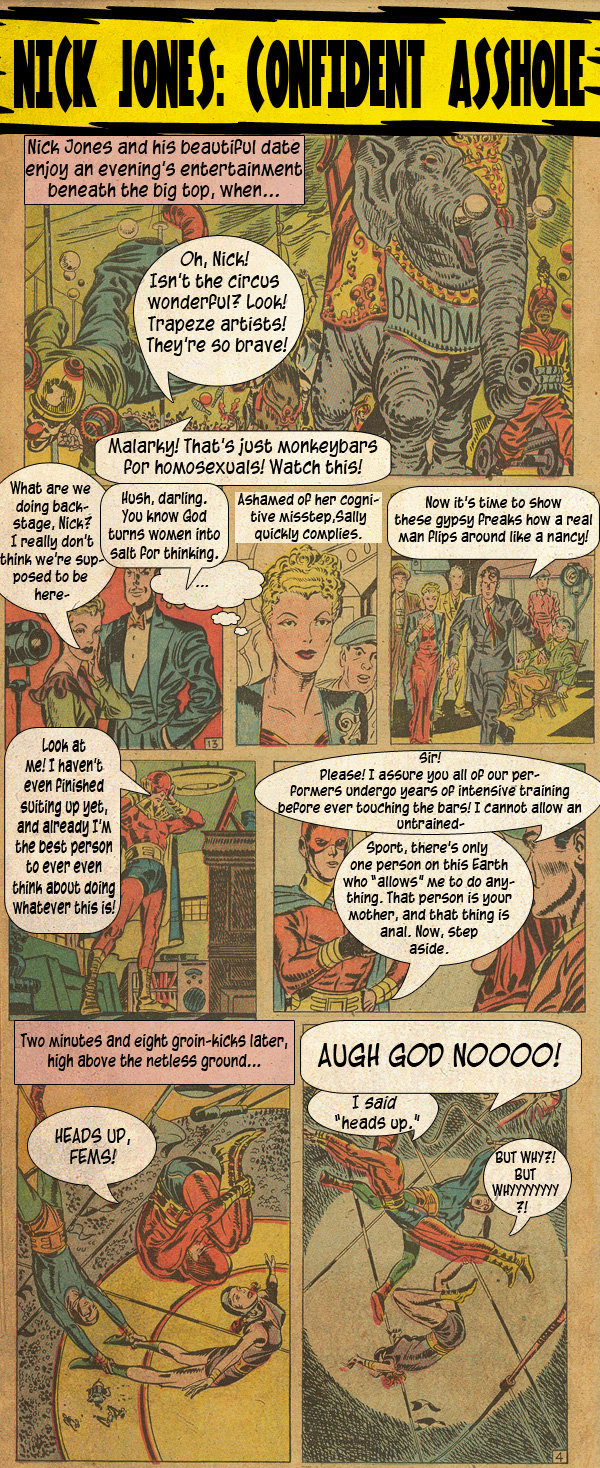 If Old School Comics Were Written For (And By) Drunk People