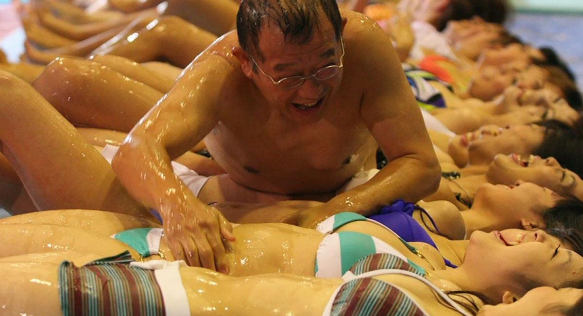 Japanese Mix Wrestling Sex