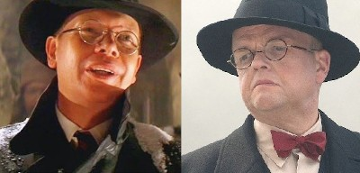 The Indiana Jones-Captain America Crossover Nobody Noticed - a side-by-side image of Arnold Toht from Raiders of the Lost Ark and Arnim Zola from the Captain America films