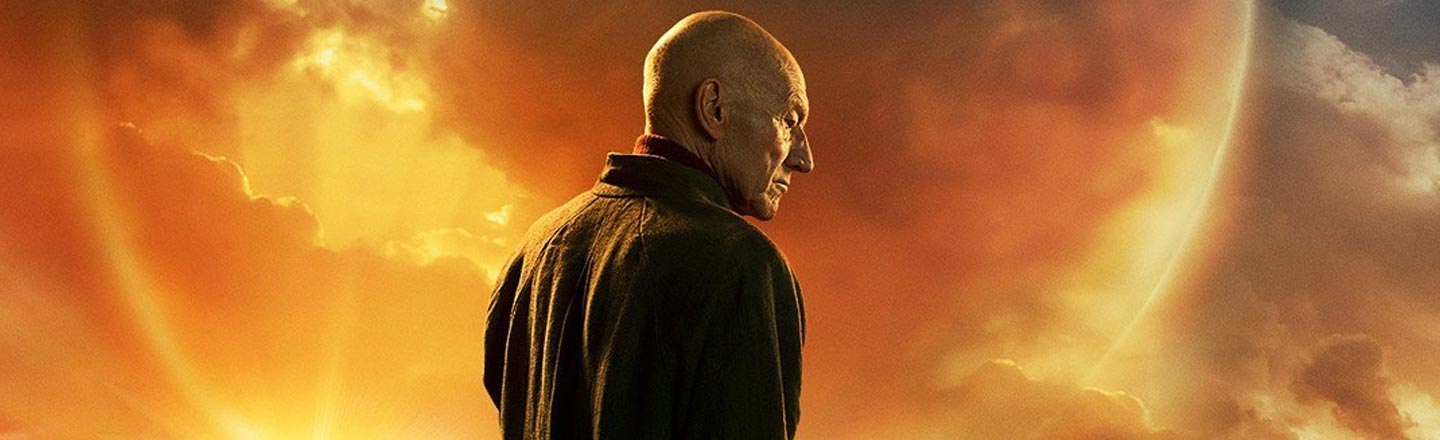 Captain Picard Has A Dog Now, But Where's His Fish?