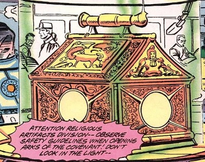 The Indiana Jones-Captain America Crossover Nobody Noticed - the Ark of the Covenant in the Marvel Comics universe