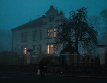 5 Real Horror Stories Ordinary People Got Trapped In - a house at night with shadowed trees