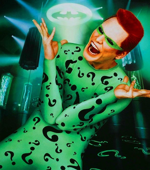 Why Do We Even Have Batman Movies Today? The Joker. - Jim Carrey as The Riddler in Batman Forever
