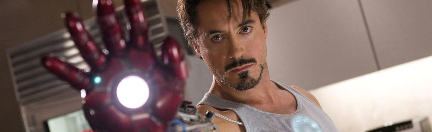 The 'Iron Man' Post-Credits Scene Almost Mentioned The X-Men