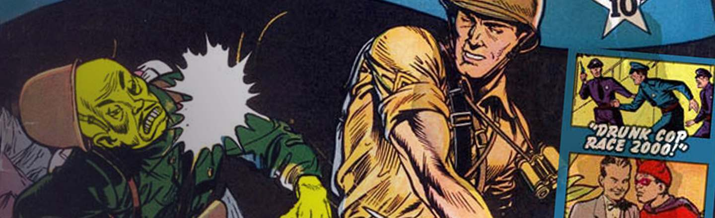 Man Comics: The Manliest Way to Take Out Space Aliens