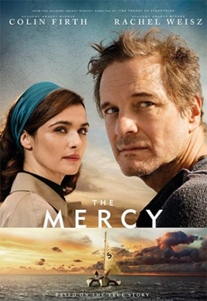 The Amazing Around-The-World Race (That Drove Contestants Mad) - a movie poster for The Mercy starring Colin Firth and Rachel Weisz