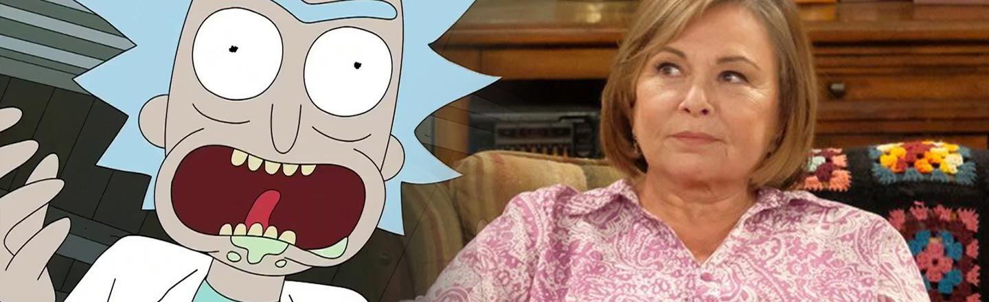 More Rick And Morty, Less Roseanne, & Other Hollywood News