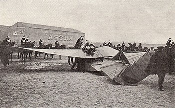 The amazing race around the world (that drove participants crazy) - a plane crash after the 1911 Paris to Madrid race