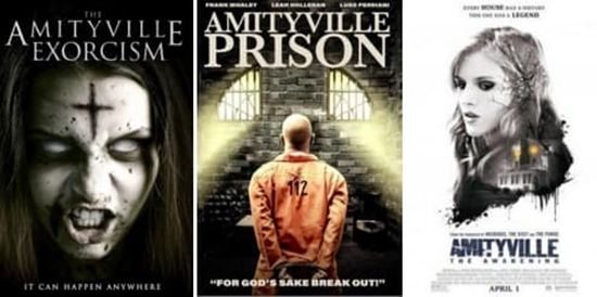 3 AMITYVILLE AMITYVILLE NA EXORCISM PRISON AMVTYVILLE E BREAK LT CAN HAPPEN ANYWHERL FOR GOD'S OUTIR APRIL I