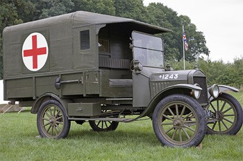 5 Medical Procedures From 30 Years Ago (That Now Seem Barbaric) - a World War I medical van
