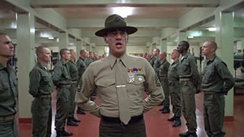 Or, failing that, he has committed the unforgivable crime of being R. Lee Ermey.