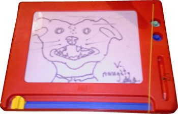 5 Medical Procedures From 30 Years Ago (That Now Seem Barbaric) - a dog on an Etch-A-Sketch