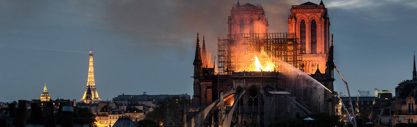 This Isn't The First Time Notre Dame's Been Nearly Destroyed