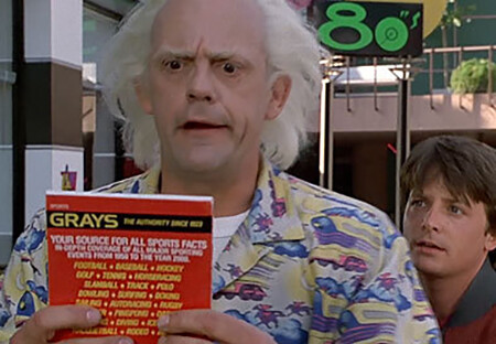4 Movie Characters Who Deserved To Return As The Villain In The Sequel Marty and Doc with the sports almanac in back to the future part 2