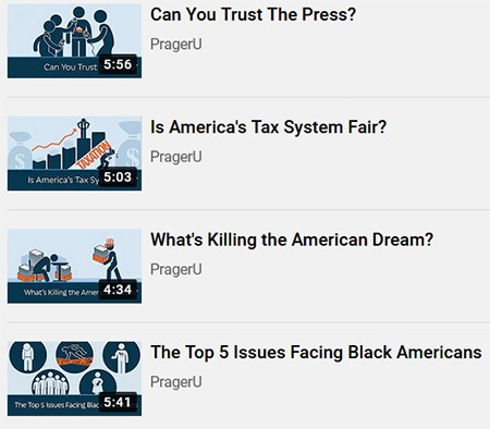 After Trump Leaves, Expect The Garbage Ideas To Get Polite - screenshot of PragerU