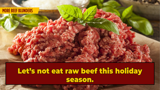 Don't Eat Seasonal 'Cannibal Sandwich' With Raw Ground Beef, Warns Wisconsin Dept. of Health