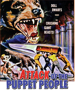 poster for Attack of the Puppet People