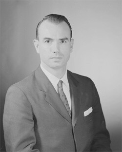 Portrait of Special Agent George G. Liddy now known as G. Gordon Liddy