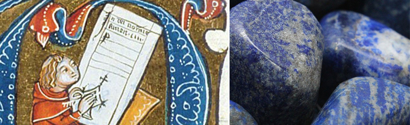 Looking For The Best Medieval Artists? Check For Blue Teeth.
