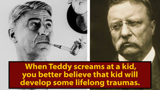 Teddy Roosevelt Scarred A Young Dr. Seuss For Life