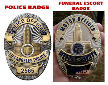 badge used by real world police security