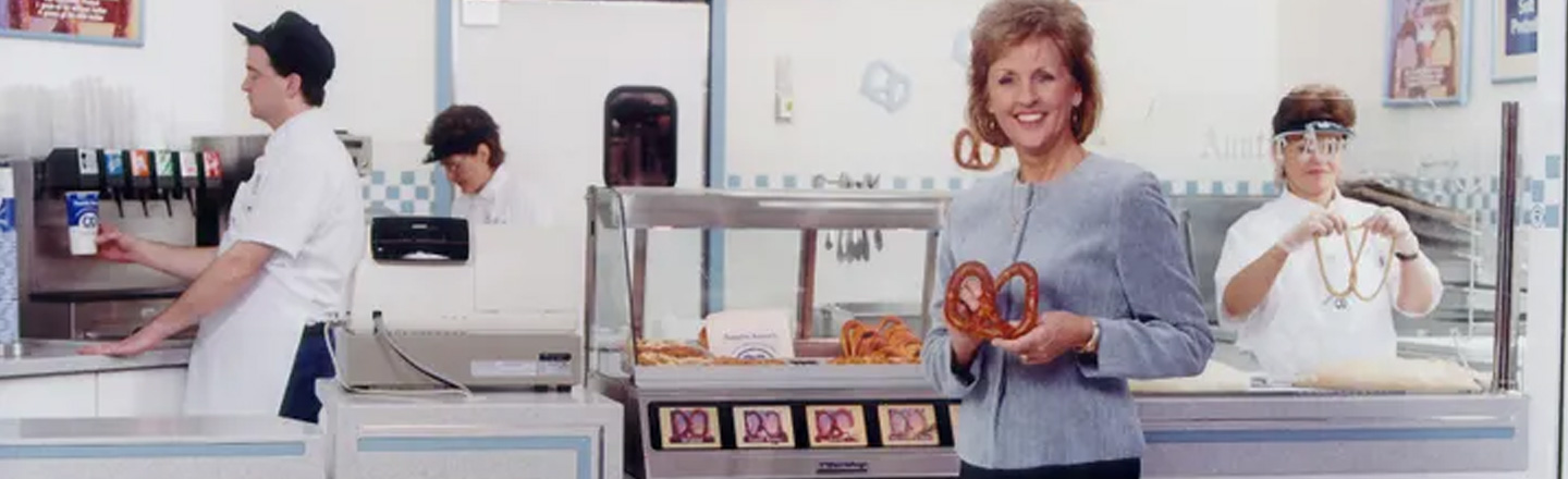 The Incredibly Dark Origin Story Of Auntie Anne's