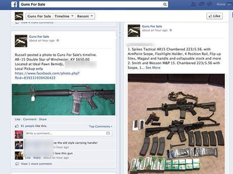 5 Terrifying Things I Learned While Buying Guns on Facebook