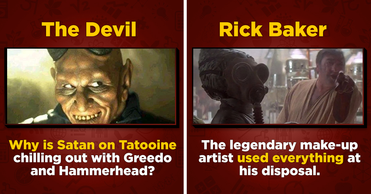 Movie Mystery: Why 'Star Wars' Had A Satan Cameo