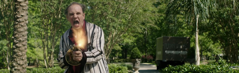 Al Capone Movie Looks Syphilis-Ridden Nuts