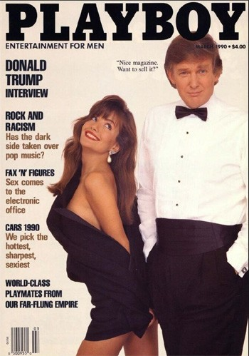 5 'What?' Side Projects From The Most Famous People Of 2020 - Donald Trump on the cover of Playboy magazine in 1990