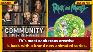 'Community,' 'Rick and Morty' Creator To Bring New Animated Series On Ancient Greece to Fox