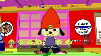 Except for PaRappa the Rapper's game, which we all know got yanked due to him currently serving time with Suge Knight for manslaughter.
