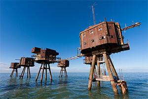 4 True Crime Stories That Get Zanier With Each New Detail offshore British antiaircraft platforms