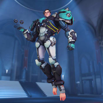 The first time someone googled Overwatch feet with both hands on the keyboard.