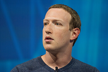 4 Embarrassing Moments In The History Of Big Sites Mark Zuckerberg staring off into space