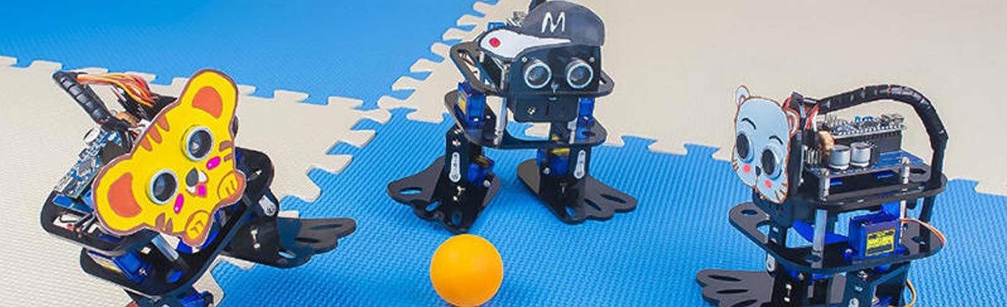 Build Your Own Robo-Friends With This 4-Kit Bundle