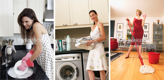 7 Bizarre Gender Stereotypes You Always See In Stock Photos