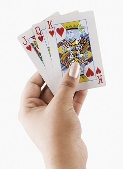 To add insult to injury they should have been playing Hold 'Em, aka Poke-Her.