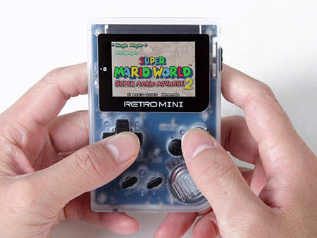 Get Your Retro Game On With This Nostalgic Handheld