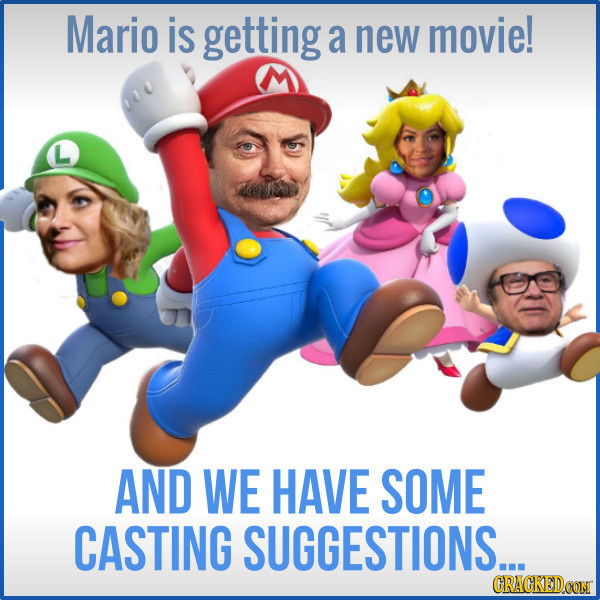 We Fantasy Cast The New Mario Bros, You're Welcome, Nintendo