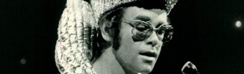 Elton John Started Dressing Like That on a Dare