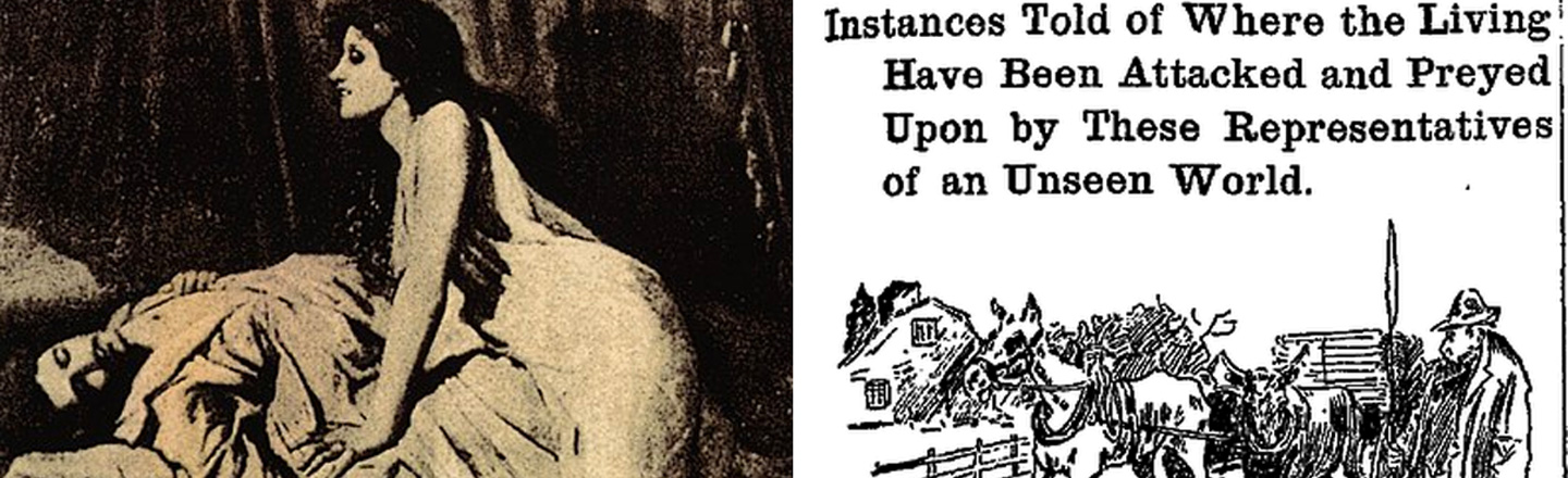 'New England Vampire Panic' Was Even Dumber Than The 'Salem Witch Trials'