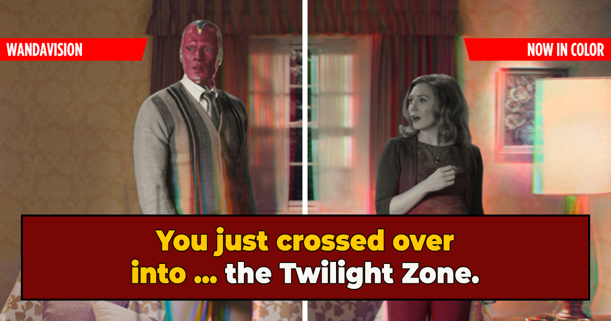 How 'Wandavision' Has Gone Full 'Twilight Zone'