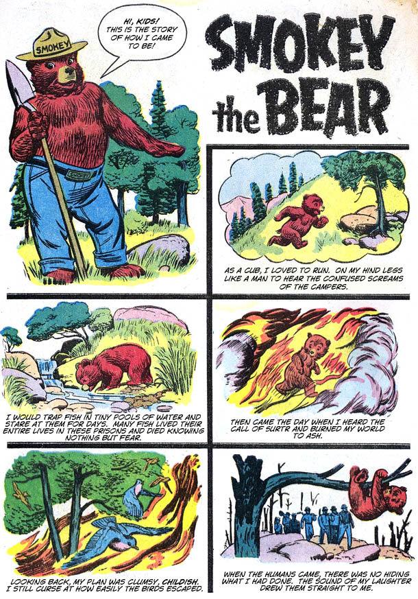 Smokey The Bear: A Terrifying Origin Story [COMIC]