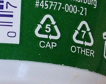 5 'Good' Ideas That Are Secretly Propaganda - plastic recycling symbols
