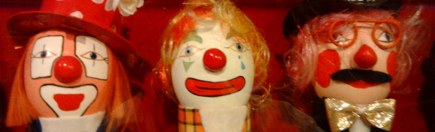 For Murky Legal Reasons, There's A Warehouse Full Of Clown Eggs