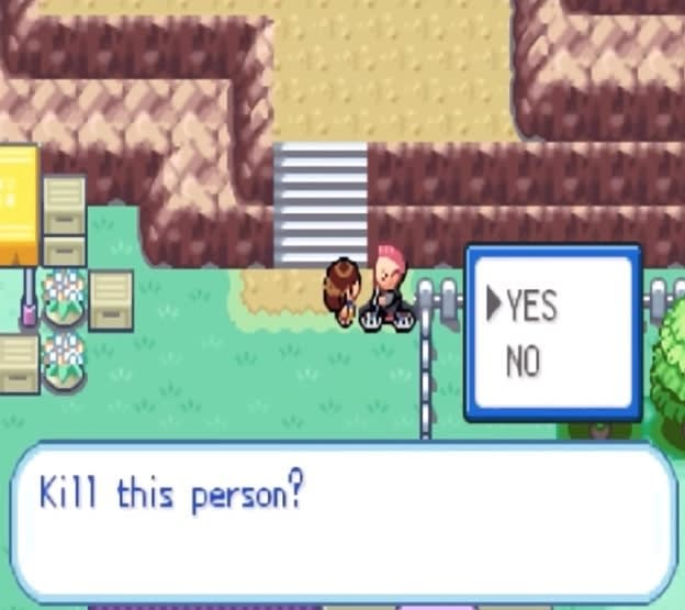 YES NO Kill this person?