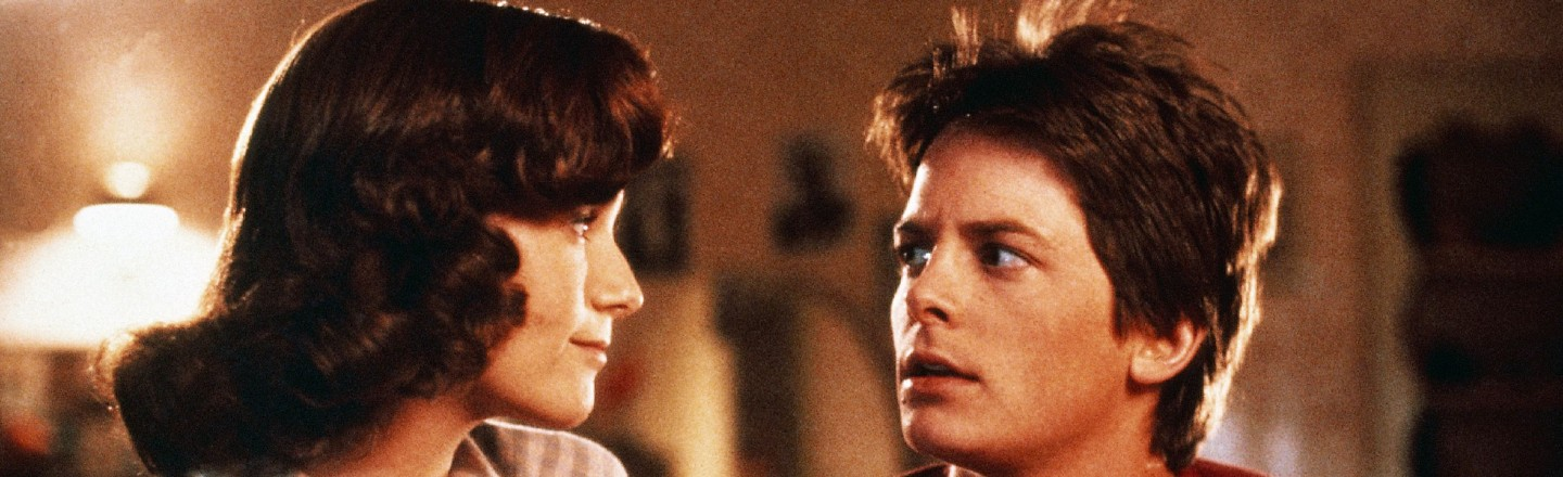 Reminder: Marty McFly Was Absolutely Going to Assault His Mom