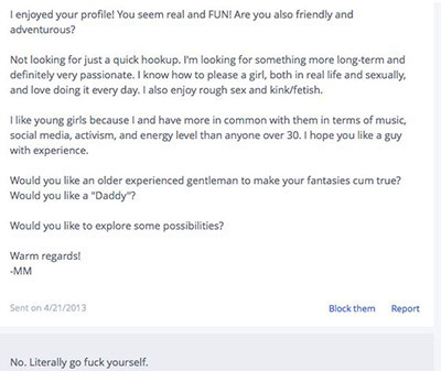 5 Creepy Dating Site Messages Every Woman Has Received